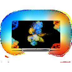 55POS9002/12  Papírově tenký 4K UHD OLED televizor Android