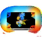 9000 series Ultratynn 4K OLED-TV drevet av Android