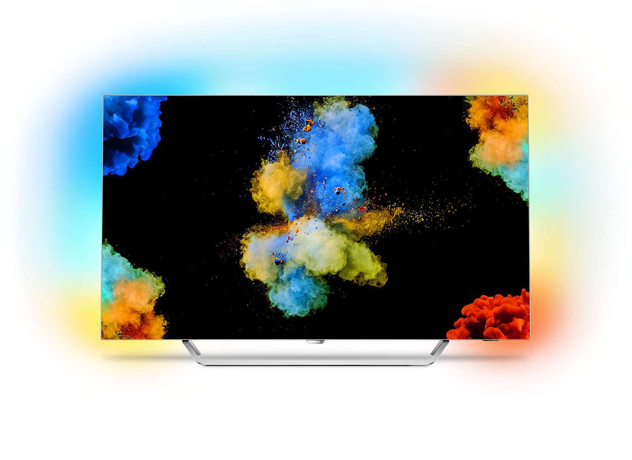 Сверхтонкий 4K UHD OLED на базе ОС Android TV