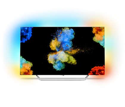 Izjemno tanek OLED-TV 4K UHD s sistemom Android TV
