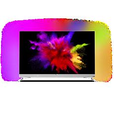 55POS901F/12  Papírově tenký 4K UHD OLED televizor Android