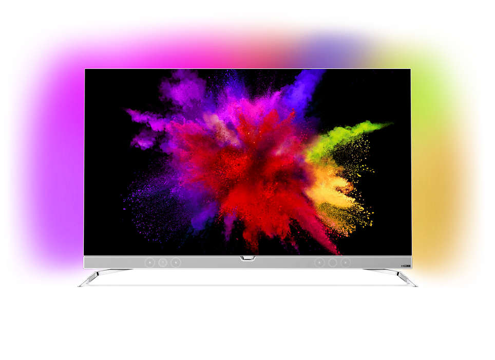 Rakbladstunn OLED-TV med 4K som drivs av Android-TV