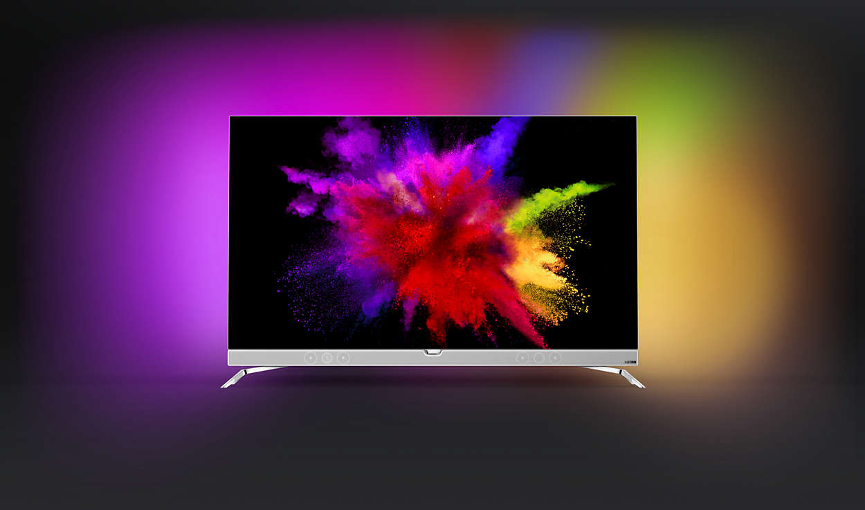 4K Razor-Slim OLED TV powered by Android