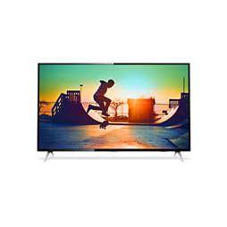 6000 series 4K 超薄智能 LED 電視