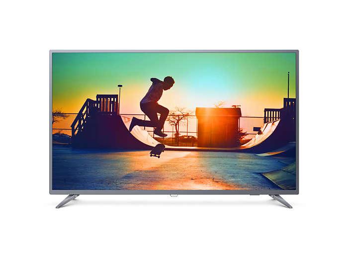 Smart TV LED 4K UHD ultradelgado