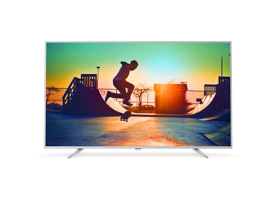 4K 超薄智能 LED 電視