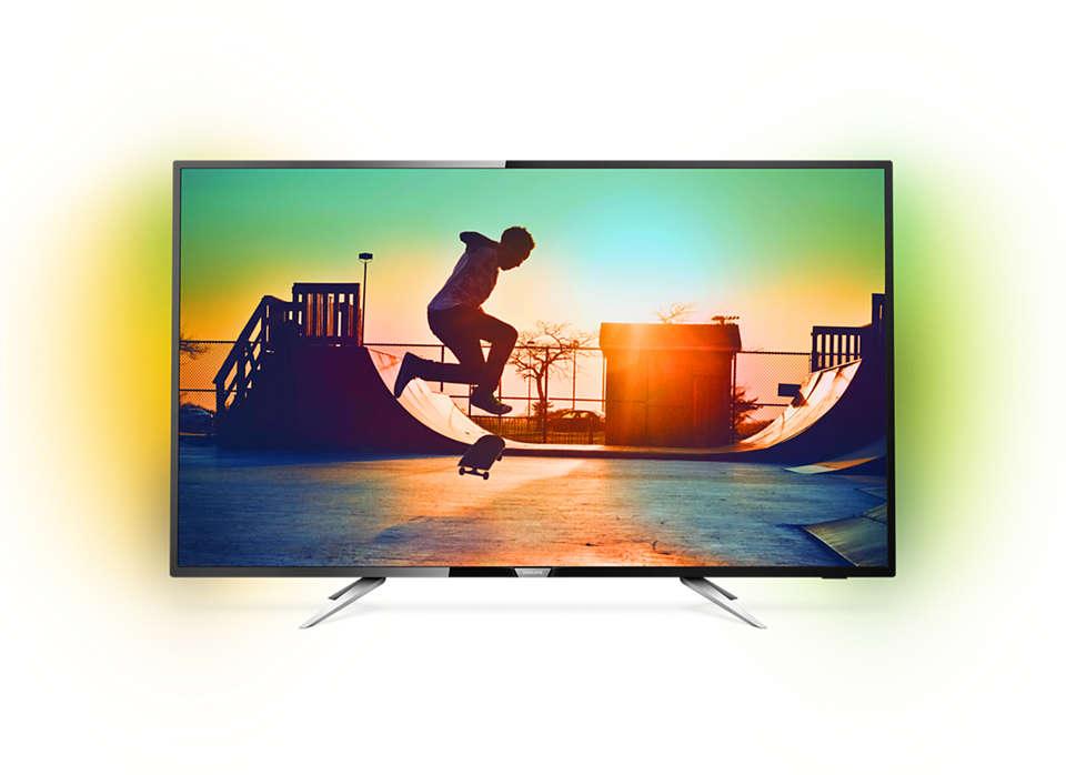 TV LED Smart ultrafina 4K
