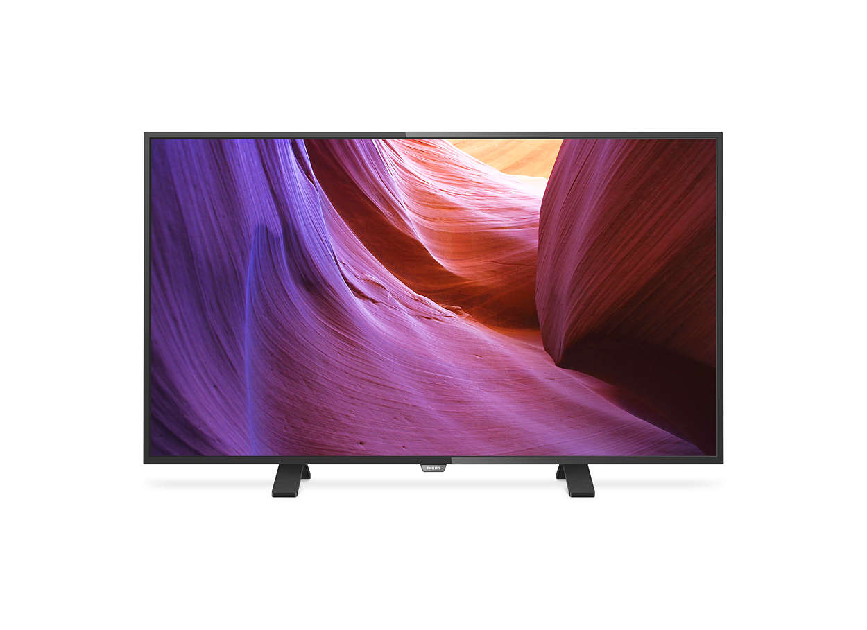 TV LED Ultra HD 4K sottile