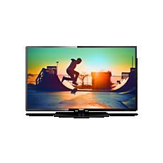 55PUS6162/12  Ultraflacher 4K Smart LED-Fernseher