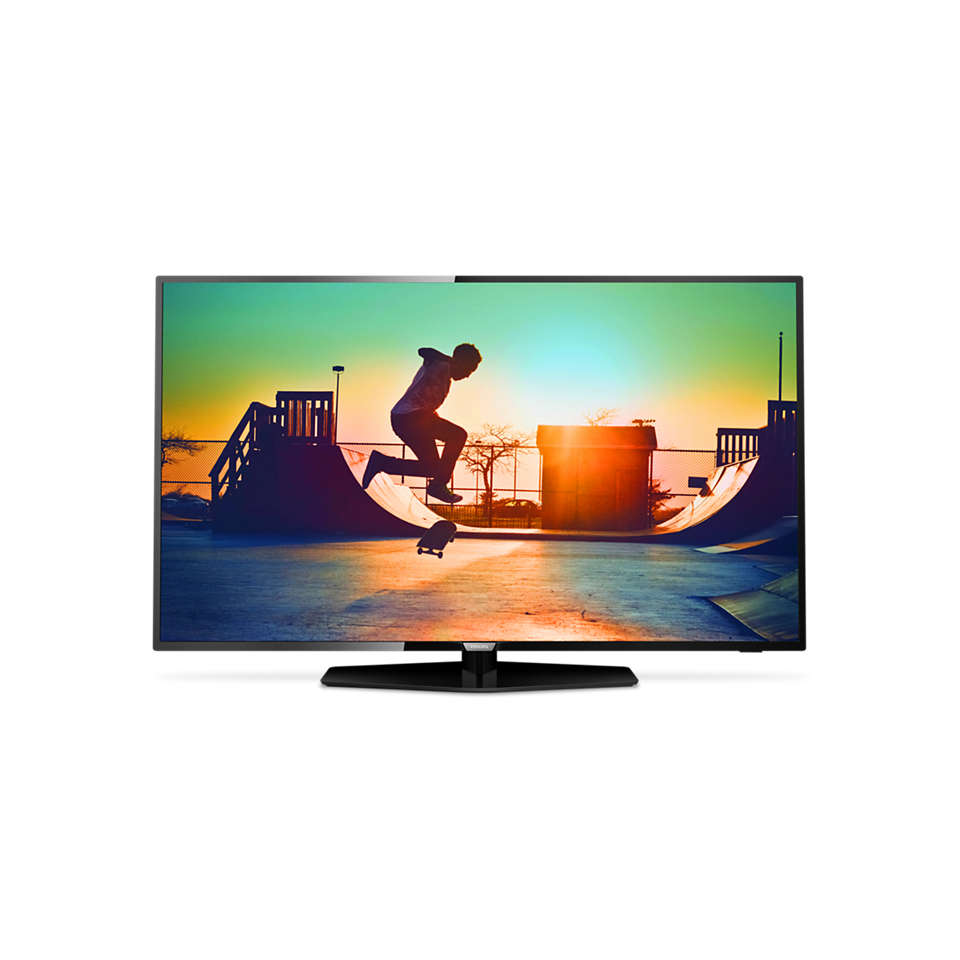 6000 series Televisor Smart LED 4K ultraplano