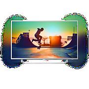 6000 series Veľmi tenký TV srozlíšením 4K sosyst. Android TV