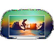 6000 series Ļoti plāns 4K televizors, darbina Android TV