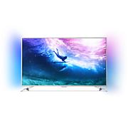 6000 series 4K UHD Ultra Slim TV, ko darbina Android TV™