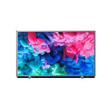 55PUS6523/12  Ultraflacher 4K-UHD-LED-Smart TV