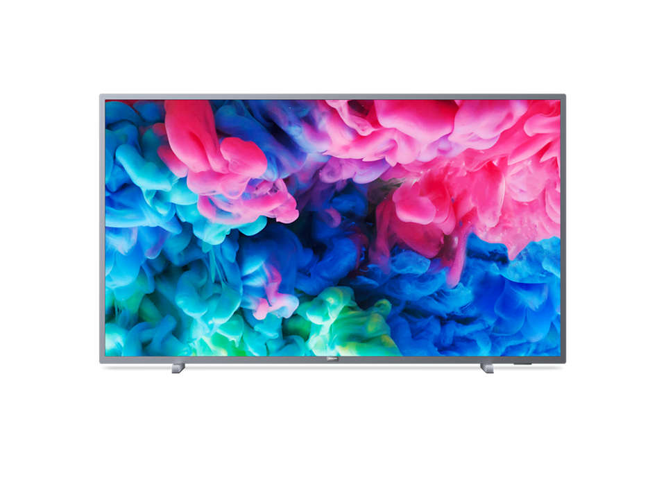Ультратонкий 4K UHD LED Smart TV