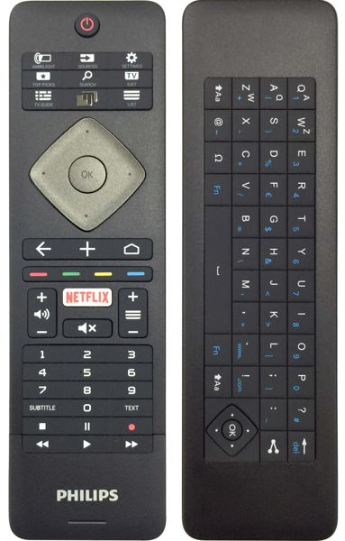 Philips 2016: 6501, 6521, 6551, 6561 Remote Control