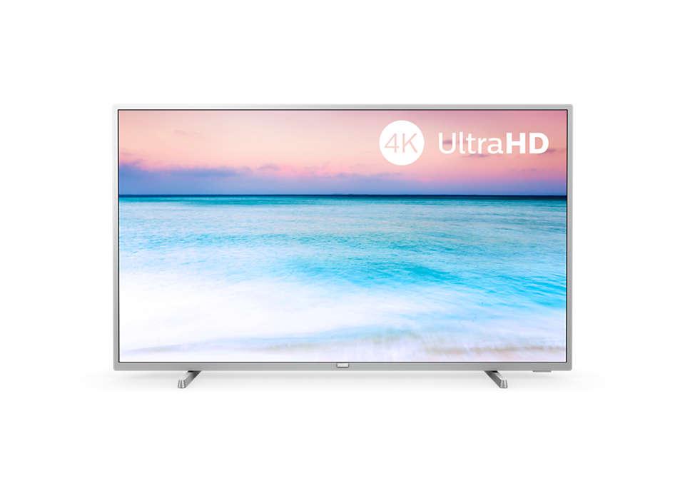 4K UHD LED išmanusis televizorius