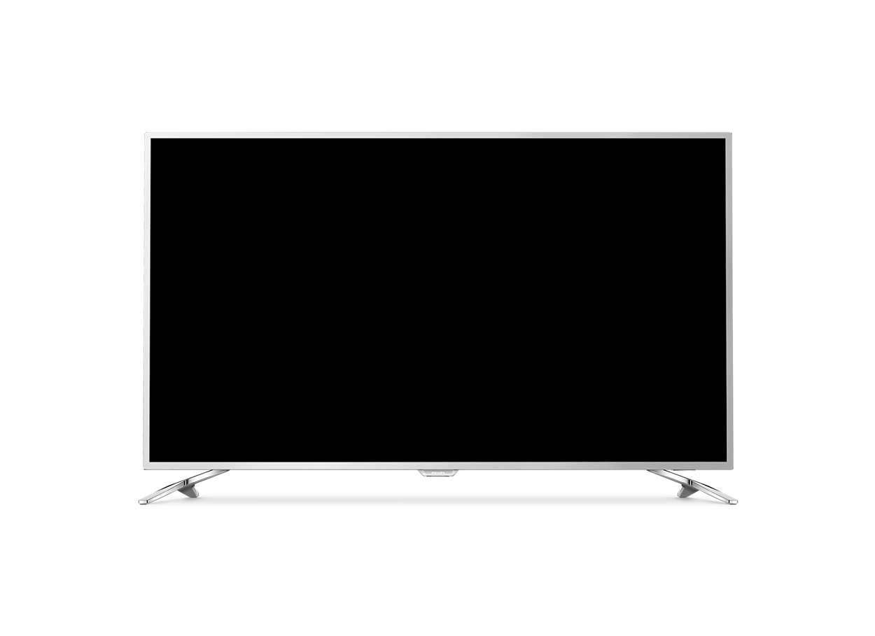 Εξαιρετικά λεπτή τηλεόραση LED 4K με Android
