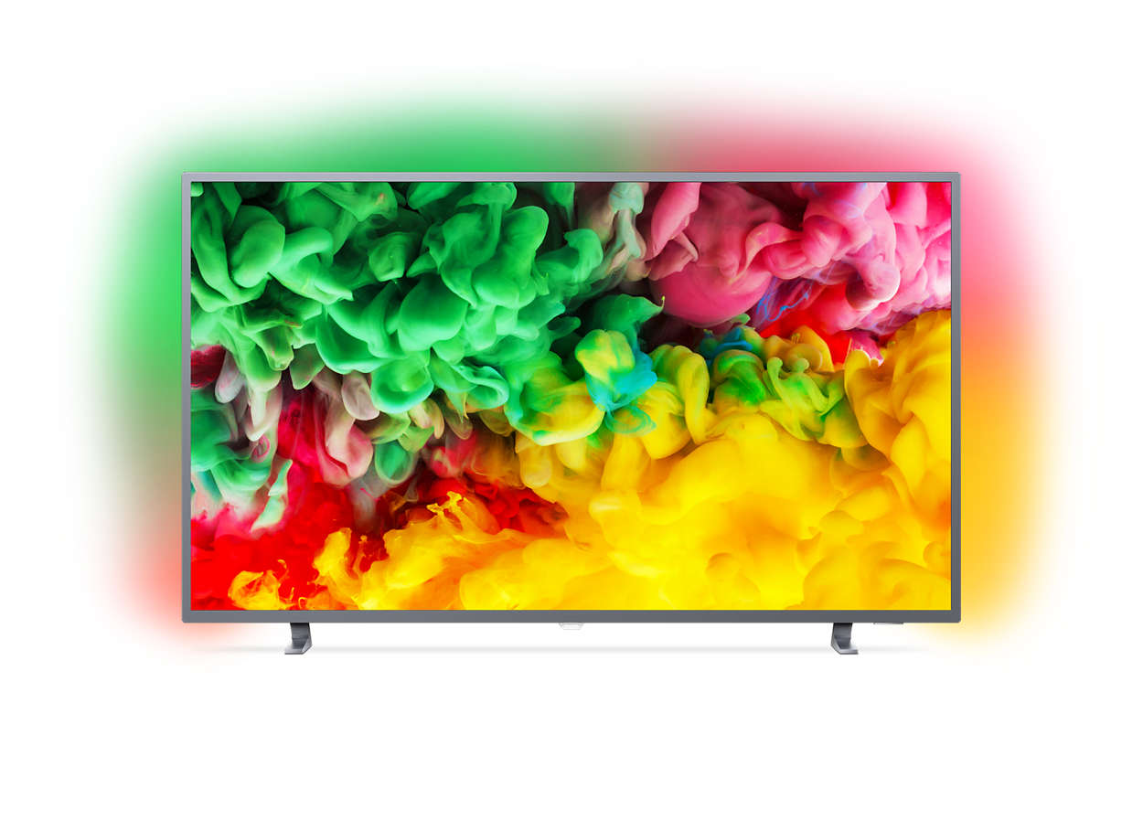 Tunn Smart LED-TV med 4K UHD