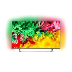 6700 series Ultraflacher 4K-UHD-LED-Smart TV
