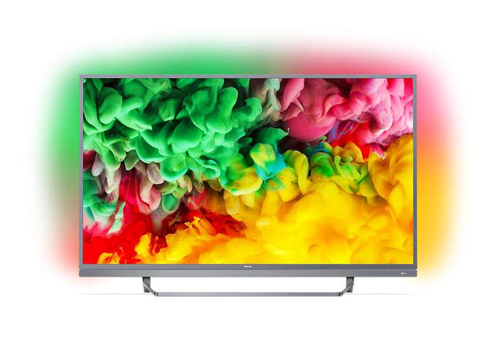 Tunn Smart LED-TV med 4K UHD