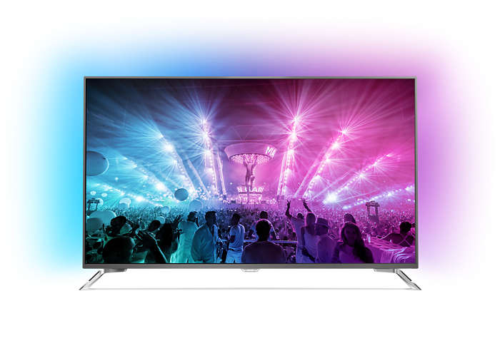 4K Ultra Slim LED TV powered by Android TV