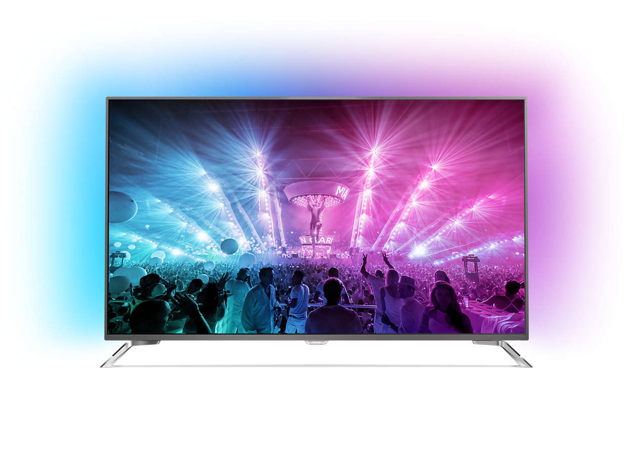 4K Ultra Slim LED TV, Android TV rendszerrel