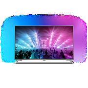 """7000 series Itin plonas 4K televizorius su """"Android TV™"""""""