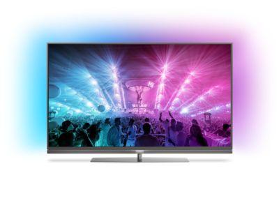Philips Fernseher Bezeichnung : Ultraflacher k fernseher powered by android tv™ pus