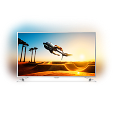 55PUS7272/12  Ultratenký televizor srozlišením 4K sAndroid TV