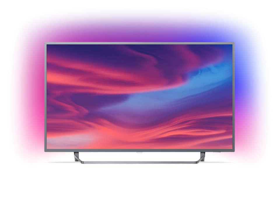 Ультратонкий 4K UHD LED TV на базе ОС Android TV