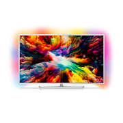 7300 series Erittäin ohut 4K UHD LED Android TV