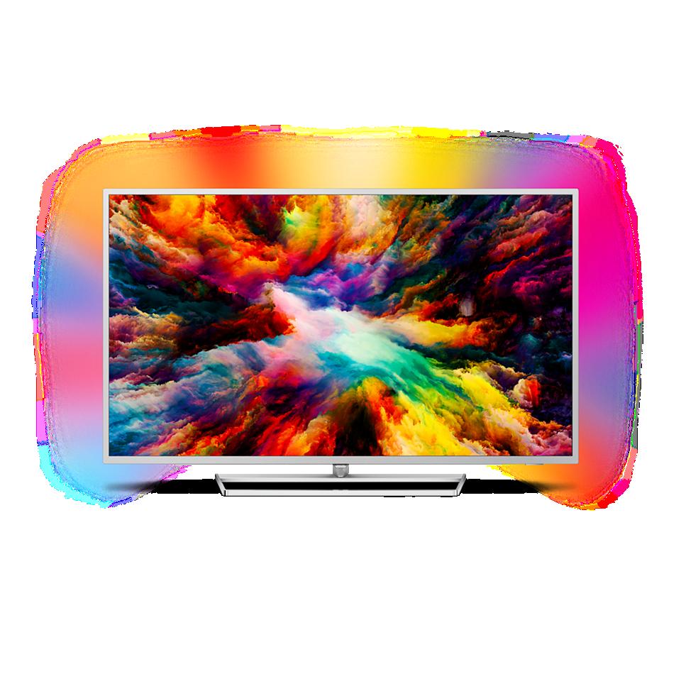 7300 series Svært slank 4K UHD LED Android TV