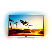 7000 series Slimmad TV med 4K Ultra HD som drivs av Android TV