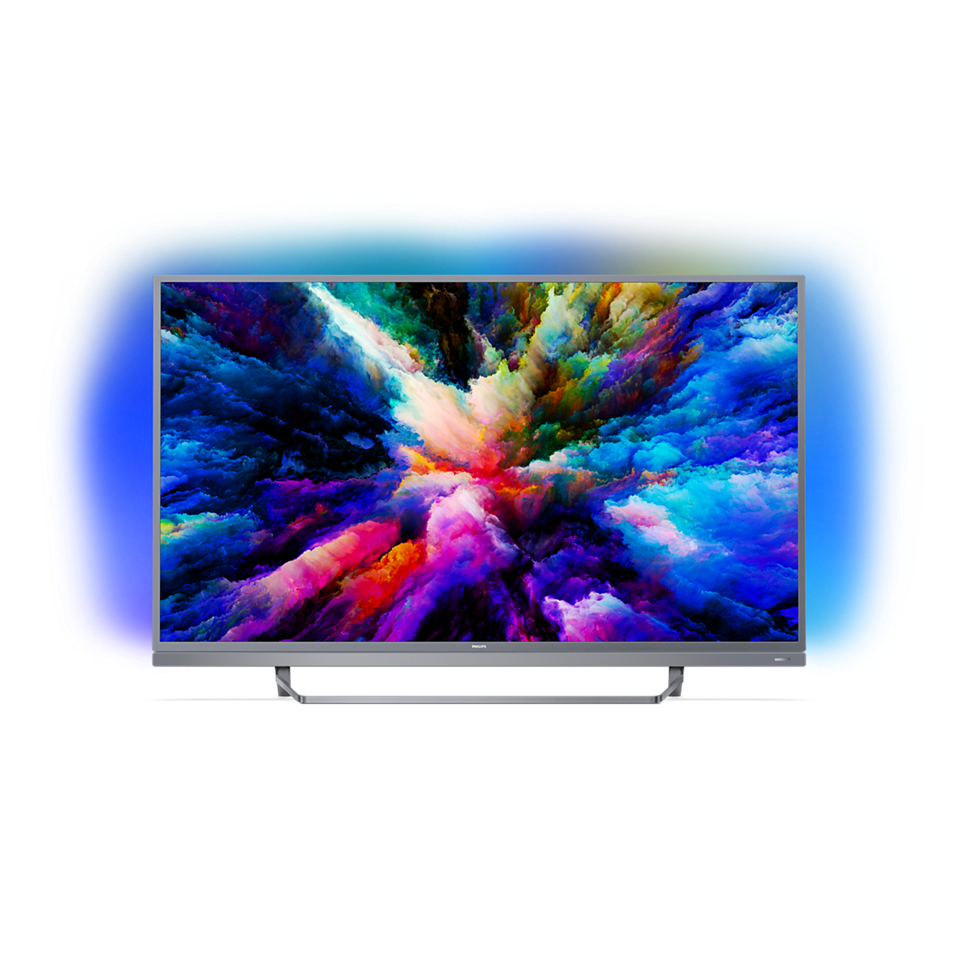 7500 series Εξαιρετικά λεπτή τηλεόραση Android 4K UHD LED