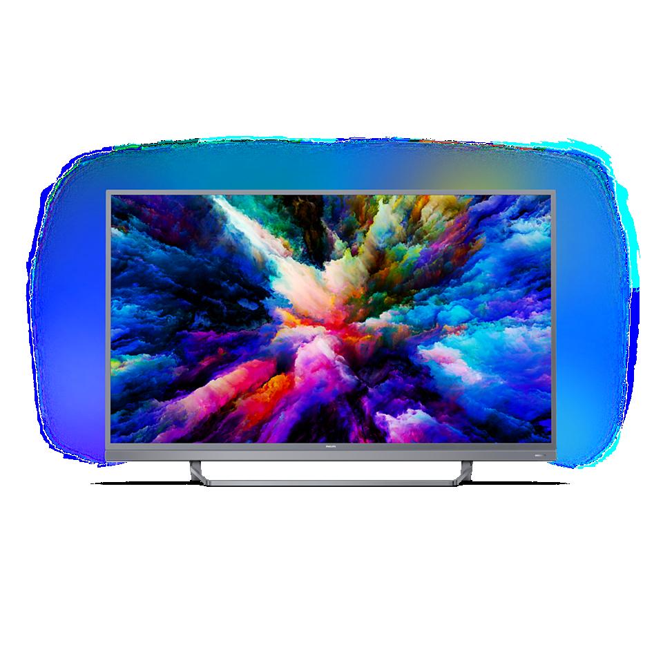 7500 series Ļoti plāns 4K UHD LED Android TV