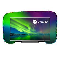7500 series 4K UHD LED на базе ОС Android TV