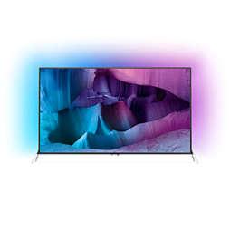 7600 series Телевізор 4K UHD Razor Slim на базі Android™