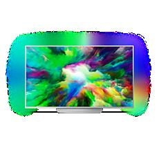 55PUS7803/12  Ultratenký 4K UHD LED televizor se systémem Android