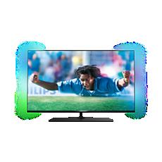 55PUS7809/12  Ultraflacher Smart 4K Ultra HD-LED-Fernseher
