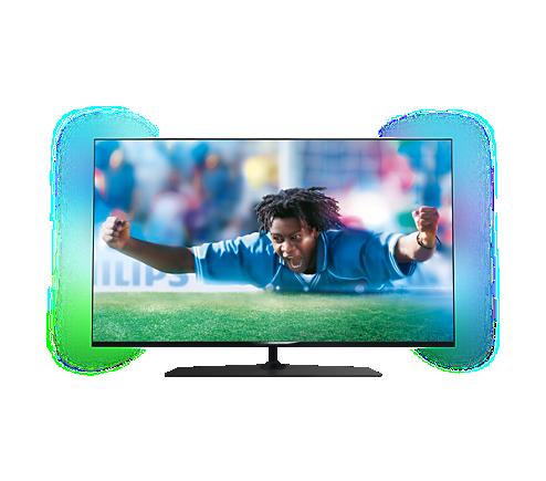 t l viseur led ultra hd 4k smart tv ultra plat 55pus7809 12 philips. Black Bedroom Furniture Sets. Home Design Ideas