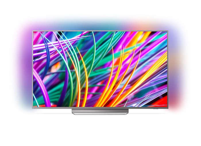 Svært slank 4K UHD LED Android TV
