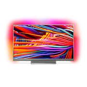 8500 series Slimmad TV med 4K Ultra HD som drivs av Android TV