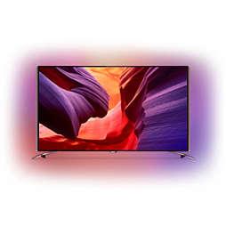 8600 series Телевізор 4K UHD Razor Slim на базі Android™