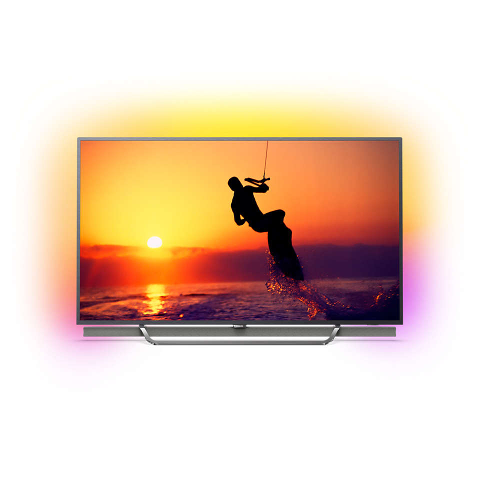 8600 series 4K Quantum Dot LED powered by Android TV