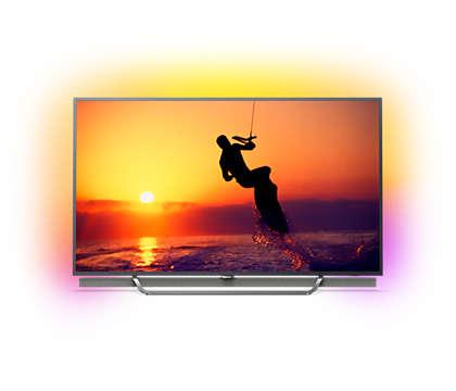 Quantum Dot 4K-LED -televisio ja Android TV