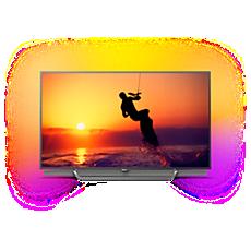 55PUS8602/12  4K Quantum Dot LED-TV met Android TV
