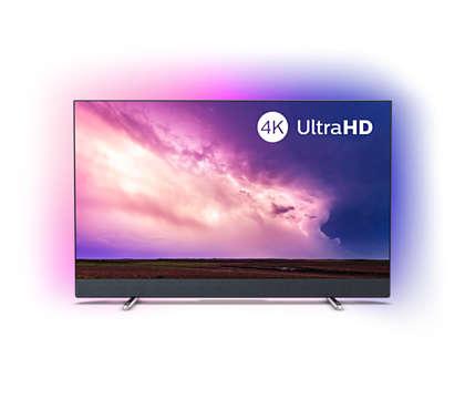 Telewizor Smart TV 4K z dźwiękiem Bowers & Wilkins
