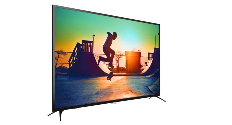TV màn hình LED siêu mỏng 4K