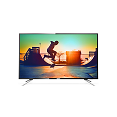 55PUT6102/56  4K Ultra Slim Smart LED TV